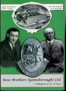 The cover of Rose Brothers (Gainsborough) Book